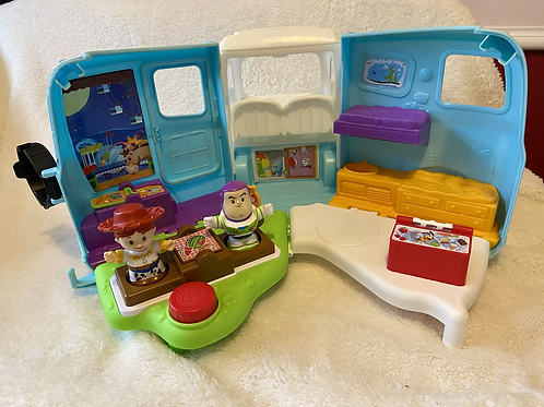 Fisher Price Little People Disney Toy Story 4 Jessie's Campground Adventure