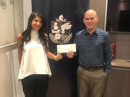 Fundación Causa Nuestra renueva su donación para la Escuela Monte Grande en Cañazas