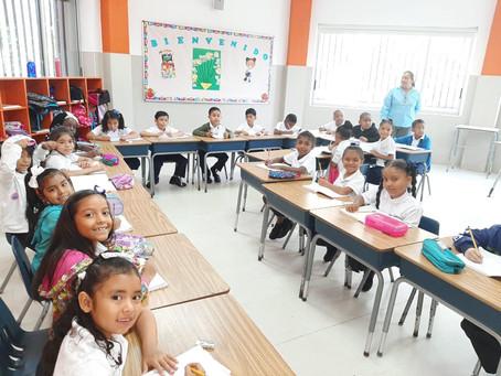 +500 estudiantes iniciaron el Año Escolar 2020 en la Escuela San Pedro Nolasco.