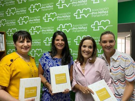 80 libros de recetas gastronómicas donados para entregar a escuelas de Cañazas y Ñürüm.