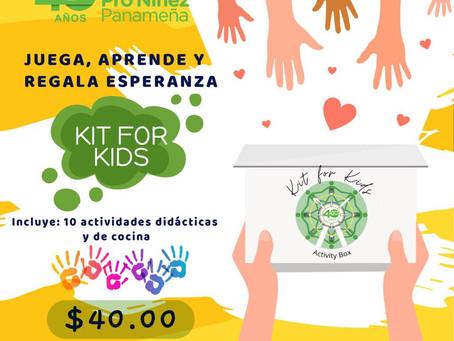 "Kit for Kids ""Niños ayudando a otros niños"