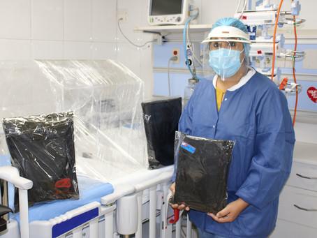 Donaciones entregadas al Hospital del Niño en tiempo de Covid - 19
