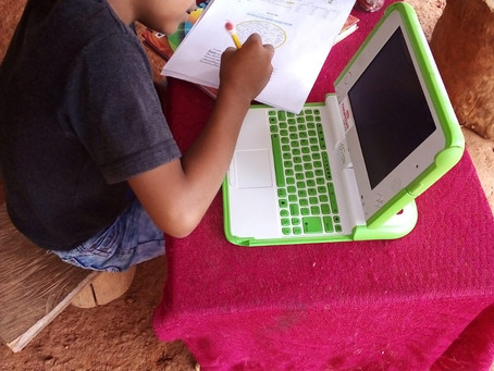 """Avances en el Programa Educativo en """"Una computadora por Niño"""" en tiempo de Pandemia - Sept  2020"""
