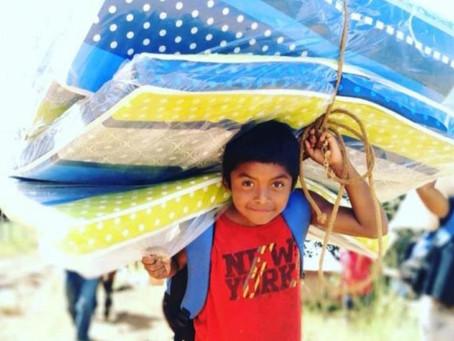 21 Familias damnificadas en Cañazas por las fuertes lluvias en Noviembre recibieron donaciones