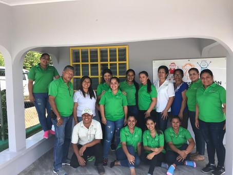 Unidos por la niñez Panameña - Taller de cuerdas en el Centro de Estimulación Temprana.