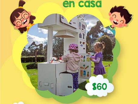 ¡Que tus niños se diviertan en casa con los juguetes ecológicos de Jungla de Cartón!