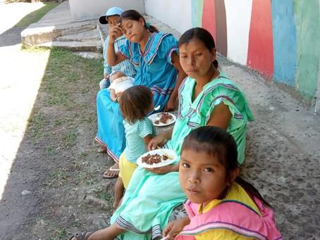 Fundación Federico Humbert que por más de 15 años viene donando 400 bolsas de alimentos.