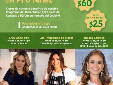 Cocina Solidaria con Pro Niñez - Calendario Julio 2020
