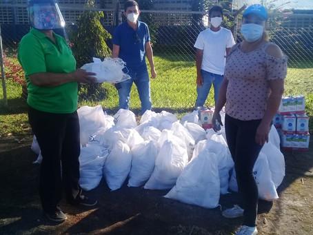 22 Jóvenes voluntarios durante la pandemia Covid-19.