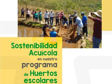Programa de Huertos Escolares - Sostenibilidad Acuícola en Ñürum