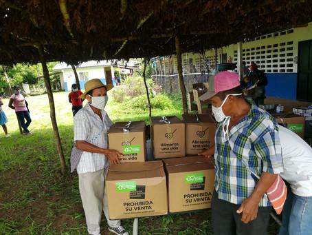 2,400 donaciones entregadas a la comunidad de Cañazas y Ñürüm - 22 Mayo 2020