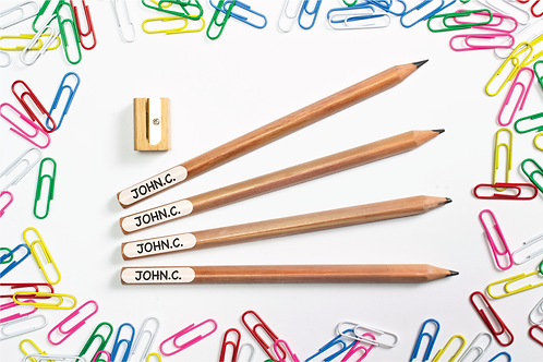 Pencil Labels - QTY 76