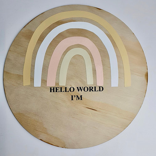 """Hello World"" Baby Sign"