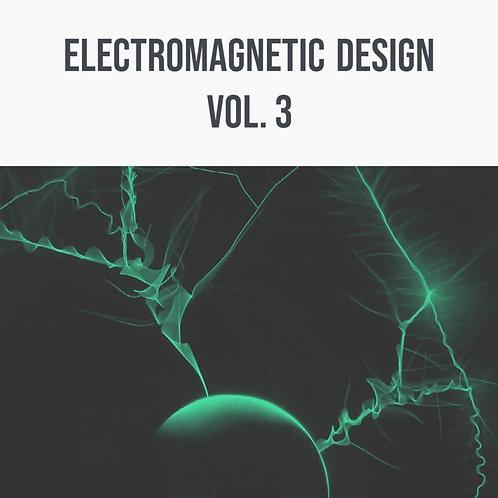 Electromagnetic Design Vol. 3