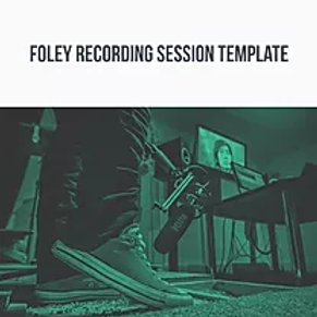 Foley Recording Template