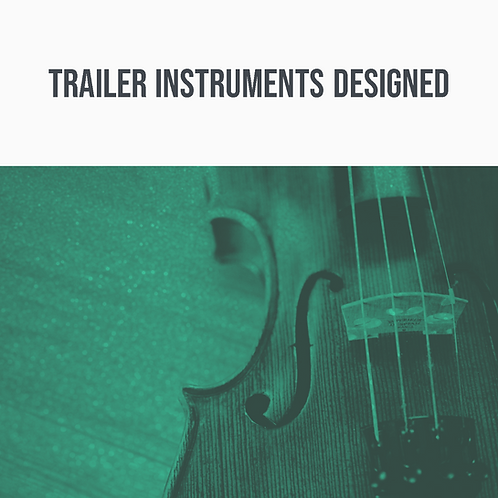 Trailer Instruments Designed