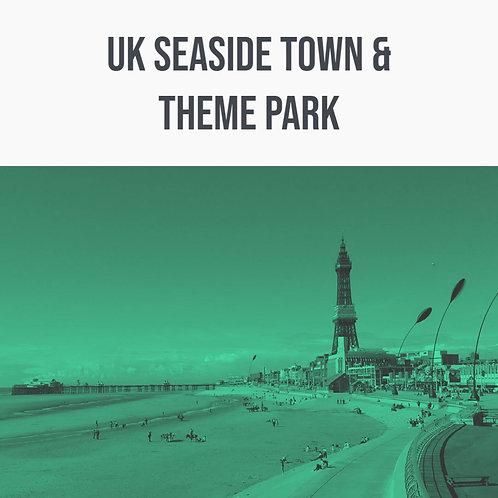 UK Seaside Town & Theme Park