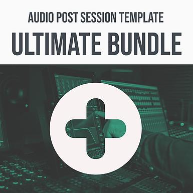 Audio Post Session Template Ultimate Bundle