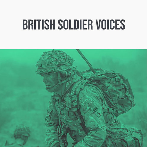 British Soldier Voices