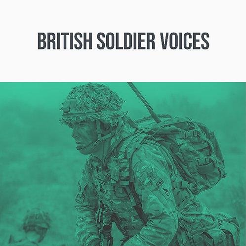 British Soldier Voices