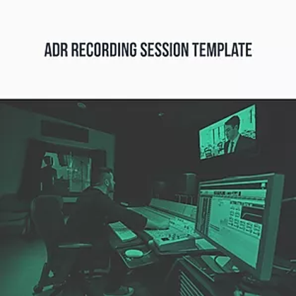 ADR Recording Template