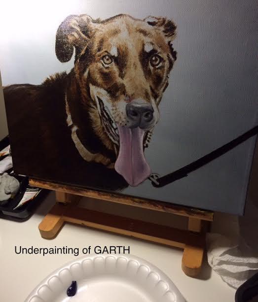 Underpainting of GARTH