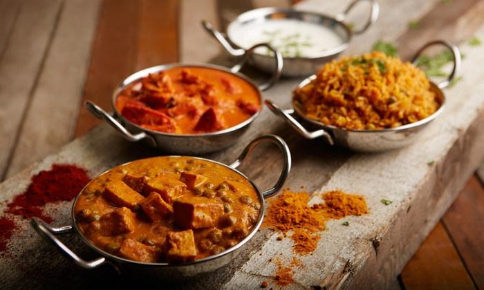 Biryani, Chicken Tikka Masala, Matar Paneer