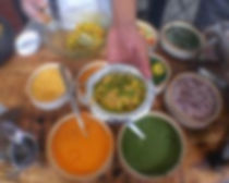 Live chaat station