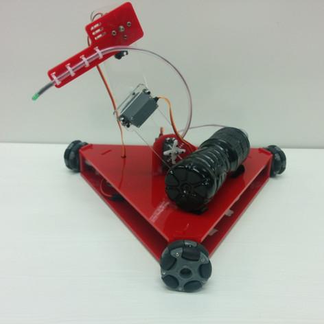 Omnidirectional Fire Fighting Robot