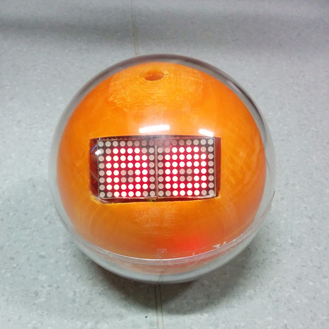 OMO: Spherical Rolloing Robot Toy