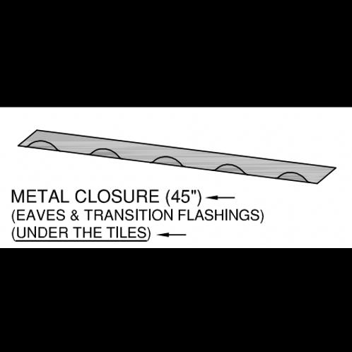 Ideal Eave Metal Closure