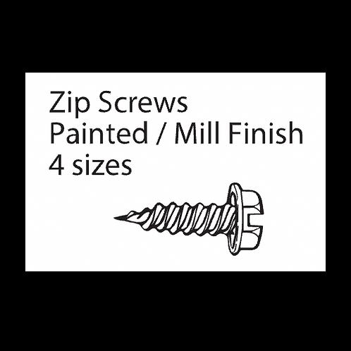 Edco Mill Finish Zip