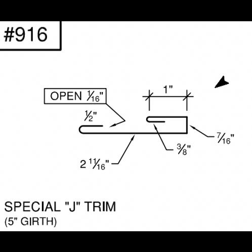 """Ideal Special """"J"""" Trim # 916- 29 Ga"""