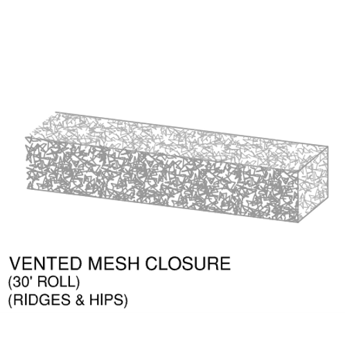 "Ideal Mesh Closure 2-1/2""x2-1/2""x30'"