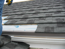 Eave Drip with battens