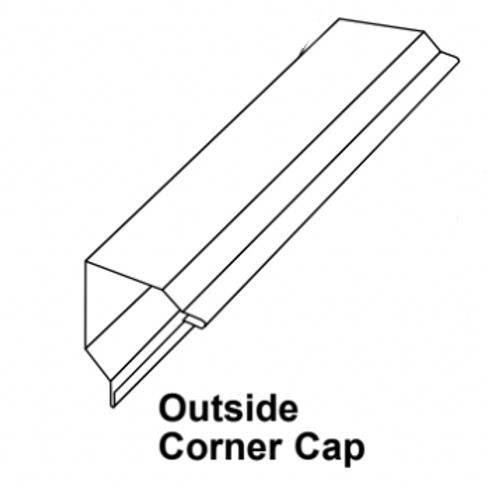 VicWest S28 Corner Cap