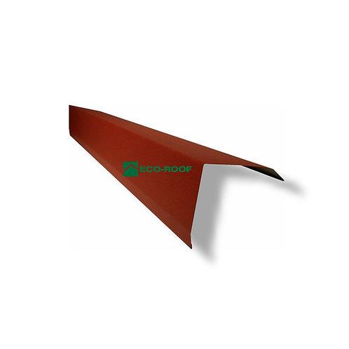 Metstar Eco Tile Gable Flashing Outside F Gable