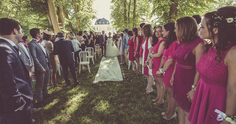 Mariage champêtre à Maudétour