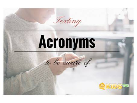 Texting Acronyms: It's Time To Take These Seriously