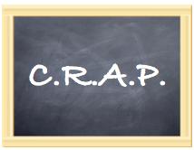 Media Literacy is C.R.A.P.
