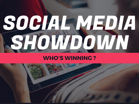Who's Winning the Social Media Showdown? We Hope YOU Are.