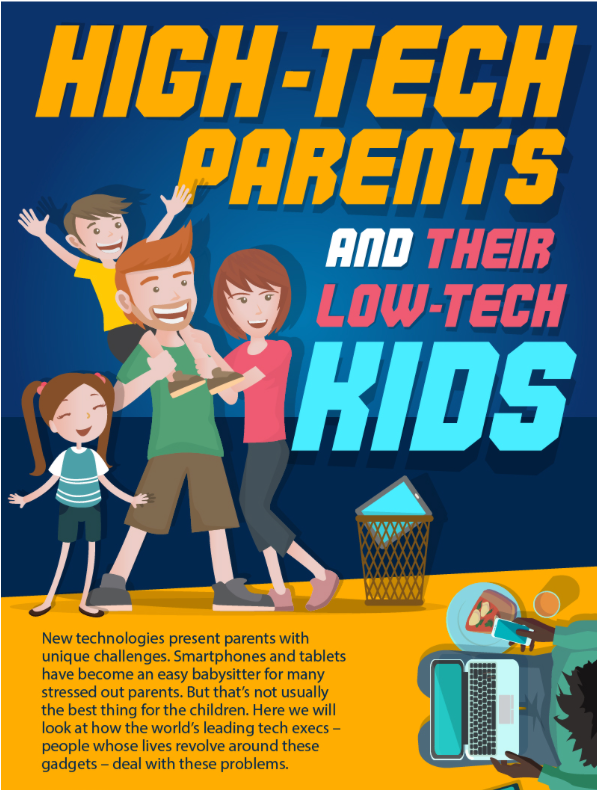 See the infographic about Hi-Tech Parents and Low-Tech Kids