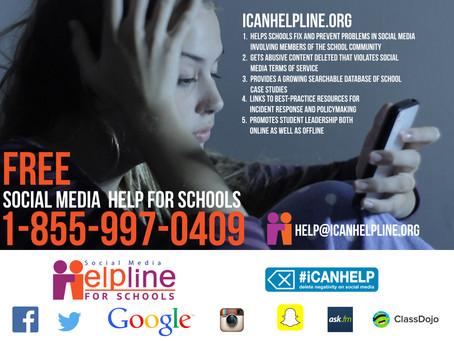 CA Schools: Social Media Help is Here!