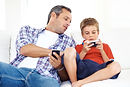 gaming with dad