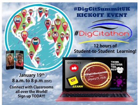 Digital Citizenship Summit Heads to the U.K.!
