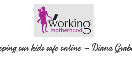 Listen to CyberWise on Working Motherhood!