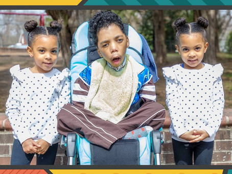 4-Year-Old McClure Family Twins Discover Empathy for Kids with Special Needs