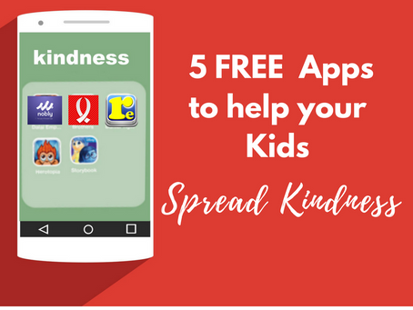 5 Free Apps to Help Kids Be Kind in 2018