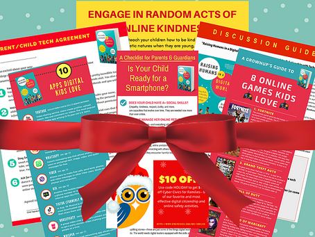 Give the Gift of Good Digital Parenting and You'll Get a Gift Too!