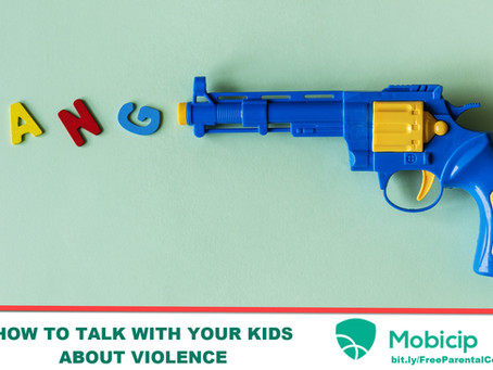 HOW TO DISCUSS VIOLENCE WITH CHILDREN